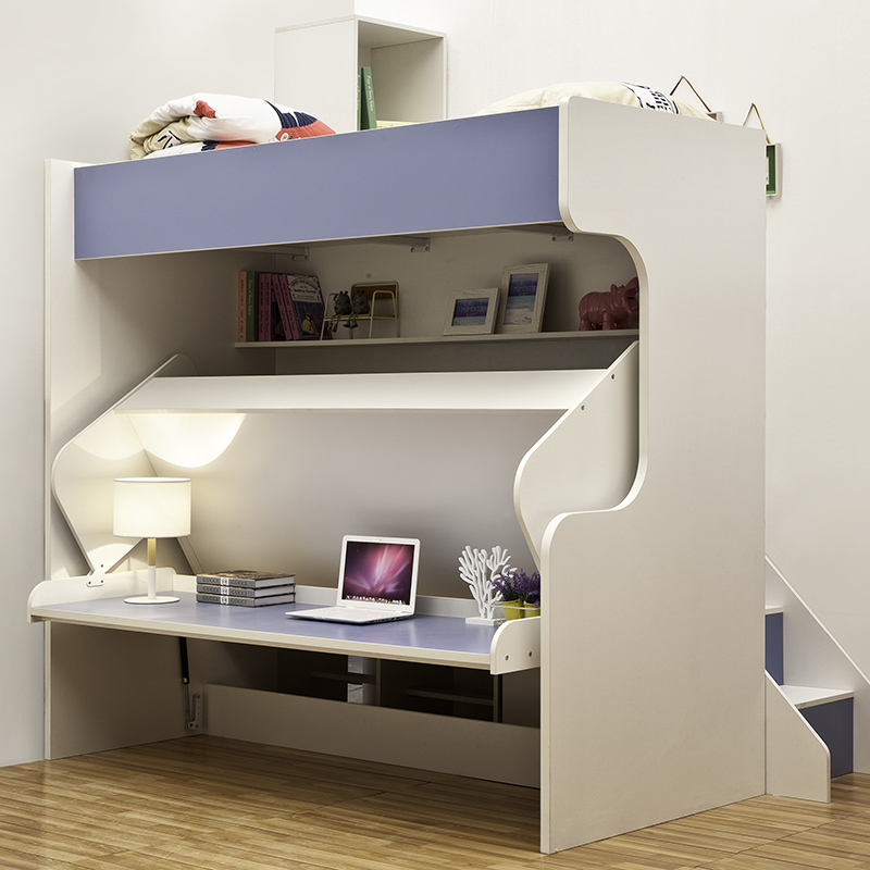 Baby wall bed with Study Table