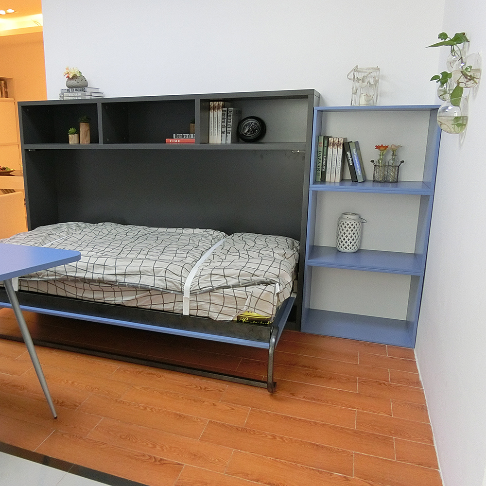 Single size Murphy wall bed