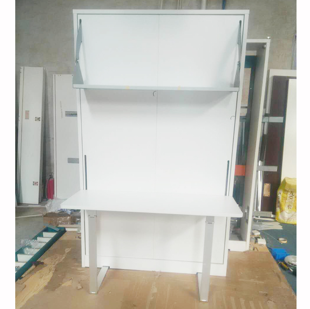 wholesale folding murphy bed wall bed with desk folding