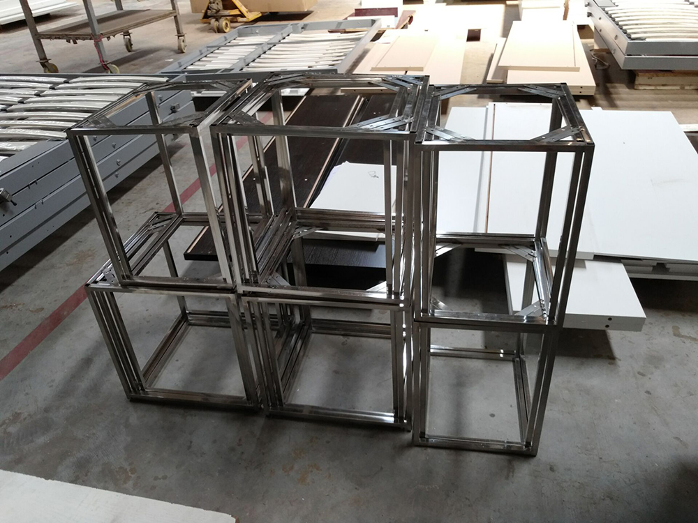 Metal steel stand for the stool