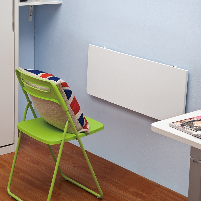 Hanging Foldable Computer Desk On Wall ...