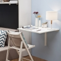 Modern space saving folding desk study desk