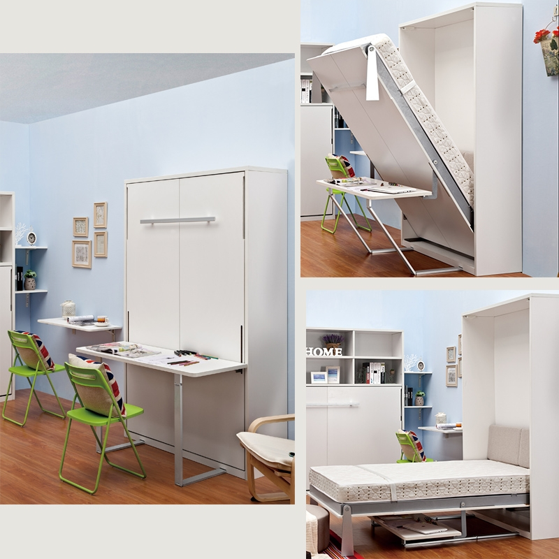 Wholesale Vertical High Quality Durable Murphy Bed With Desk For