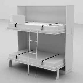Wooden Bunk Bed Murphy Bunk Bed Adult Bunk Bed Tallwallbed Com
