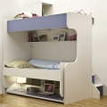 Baby room furniture set folding kids bunk wall bed