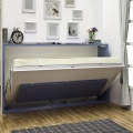Smart design wall bed horizontal style fold up wall bed