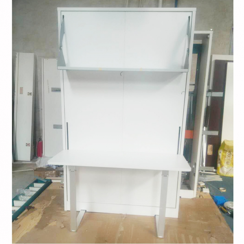 folding murphy bed wall bed with desk