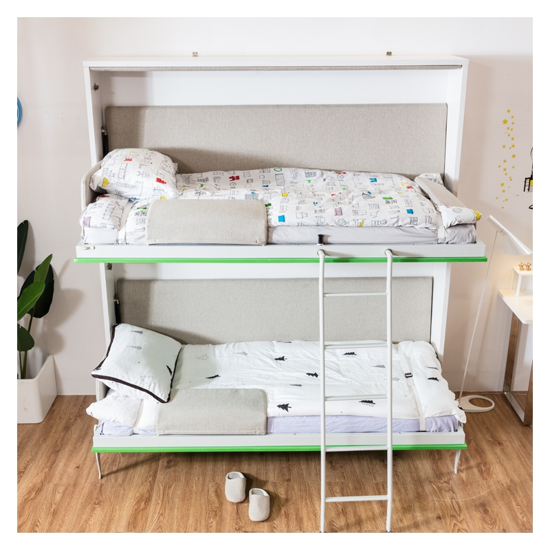 Customized Plywood Side Bed Wall Folding Bunk Bed Murphy ...