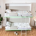 Customized Plywood Side Bed Wall Folding Bunk Bed Murphy Wall Bed Bunk