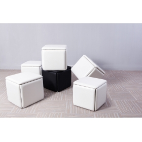 Modern style save space chair five in one hidden chair ottoman chair