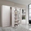 2019 new style rotating bookcase gas rod murphy wall bed