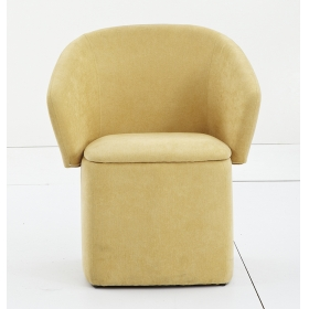 Living room sofa chair single seat multifunctional sofa stool