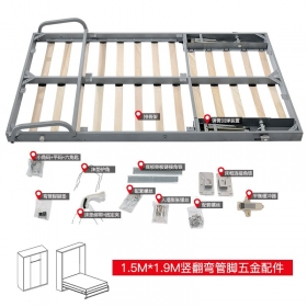 High Quality hardware kit Modern life Hidden Vertical murphy bed hardware kit