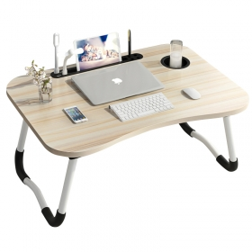 Multi-functional Modern Convenient Small Folding Desk on bed