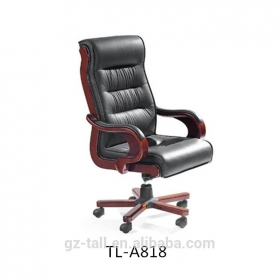 Leather modern luxury executive office chairs with arm